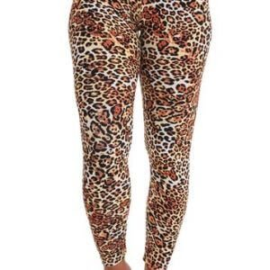 Roar Pattern Leggings