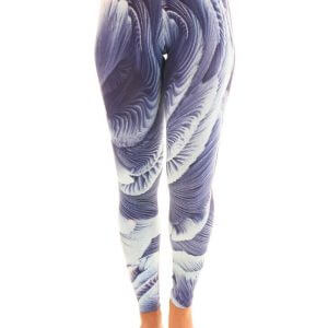Seashells Pattern Leggings