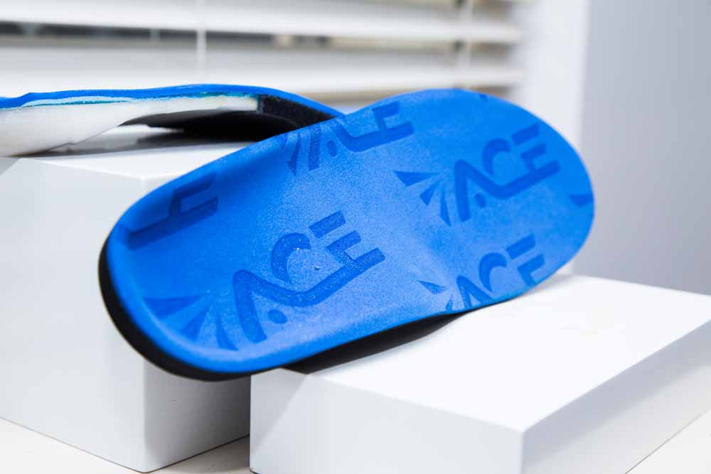 ACE Custom made Insoles. 3d orthotics