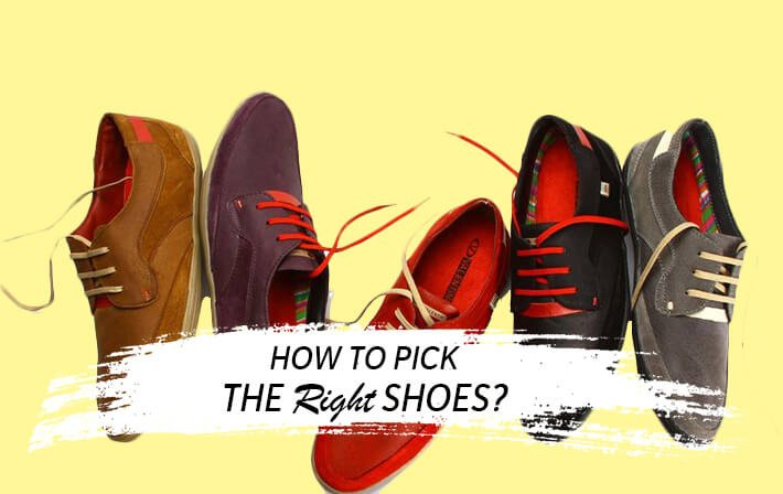 how to pick shoes