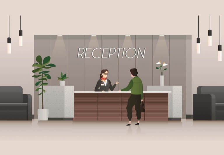Medical Receptionist Job